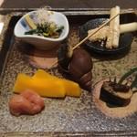 赤坂 鮨葵 - 前菜盛り合わせ