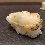 赤坂 鮨葵 - ツブ貝 醤油スダチ