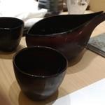 赤坂 鮨葵 - 獺祭 磨き50