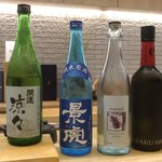 赤坂 鮨葵 - メニュー以外にもお酒は豊富