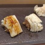 赤坂 鮨葵 - アナゴは塩とタレの二種類