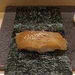 赤坂 鮨葵 - 有明海初摘み海苔のかんぴょう巻き