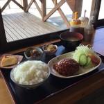 ながはら - 料理写真:ハンバーグ定食(700円)