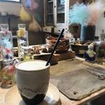 その灯ぐらし - ドリンク写真:クリーミーなカフェラテ とっても美味しい♡