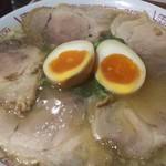 92296445 - 煮卵チャーシュー(こってり)