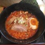 麺屋 大申 - 赤(辛みそ)750円