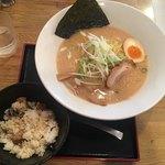 麺屋 大申 - ランチセット750円