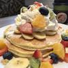 ホノルルコーヒー - 料理写真:フルーツレインボーパンケーキ 1250円
