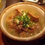 オイスターバー COVO - 牛スジとガツの煮込み