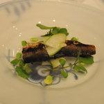 アロマフレスカ 博多 - 大分アユの炭火焼き夏のサラダ仕立て