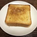 ベーカリーカフェ 高級食パン 嵜本 - トーストで