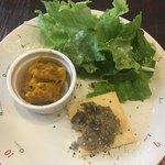 ビストロ コマ - イマイチな前菜とIKEAの皿