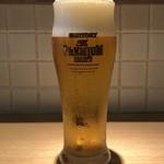 RAMEN にじゅうぶんのいち - 生ビール