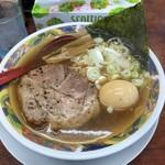 まぐろラーメン大門 - 料理写真:しょうゆ味玉