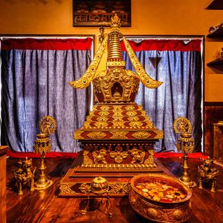 ネパールの郷土品や装飾品