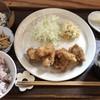 ランチとカフェ 辻八 - 料理写真:ランチ(唐揚げ、ポテトサラダ) @980