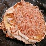 だい人 - 紅ズワイ蟹 丸ごといっぱい甲羅焼き 1,700円