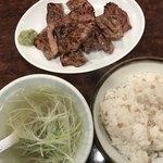 牛タン焼専門店 司 - 【2018.8.31】牛タン定食1.5人前 3050円