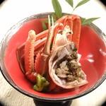 いわし屋 - 料理写真:懐石ずわいかに