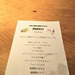 肉ばたけ - 野菜パレットの説明書