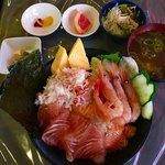 らがん - 選べる4種の海鮮丼大盛り具増し