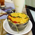 シダータ 神楽店 - ランチのサラダ