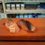 鮨処 ふか川 - コハダに鯛