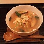鮨処 ふか川 - 蟹の蒸し寿司