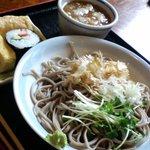 コミュニティレストラン 庵ひろ - 越前蕎麦セット