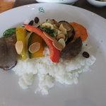 イゾラ ベーラ - 夏野菜の素揚げ