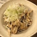 とりビアー - 鶏皮ポン酢