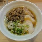 麺処 鶏谷 - 鯖出汁肉吸い鶏そば