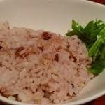 92311624 - セットの玄米ご飯