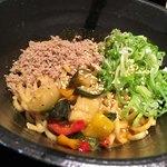 汁なし - ・カレー担々麺