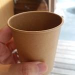 イタリアン居酒屋 イタサカマルシェ - 持ち帰りのコーヒー