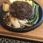 おとなのヒッコリー - 料理写真:ハンブルグステーキ