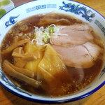 ラーメン秀来 - ワンタン麺
