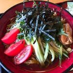 田畑屋 - 料理写真:冷し狸そば(1,085円)