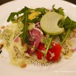 Ginsaipurasu - 20種類の野菜とスーパーフードを使ったサラダ