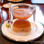 クロスダイン - 桃のスープ