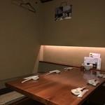 目黒川魚金 - 個室