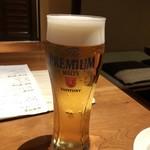 目黒川魚金 - 生ビール