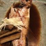 目黒川魚金 - のどぐろの煮付け