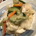 目黒川魚金 - 六種類の野菜漬け