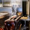 焼き鳥 とりら - 料理写真:焼き場