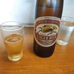 双葉食堂 - ドリンク写真:瓶ビール(大瓶)が安い!