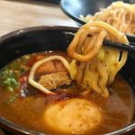 92326467 - 味噌つけ麺 麺リフト