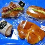 リシェ  - 料理写真:購入したパン類
