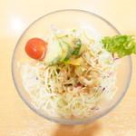 柿安イートイン - サラダ