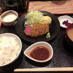 金澤牛かつ小林 - 料理写真:牛かつB定食    (並)¥1400-